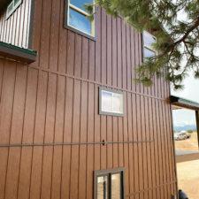 Western Cedar Board Batten Steel Siding