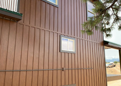 Western Cedar Board Batten Steel Siding