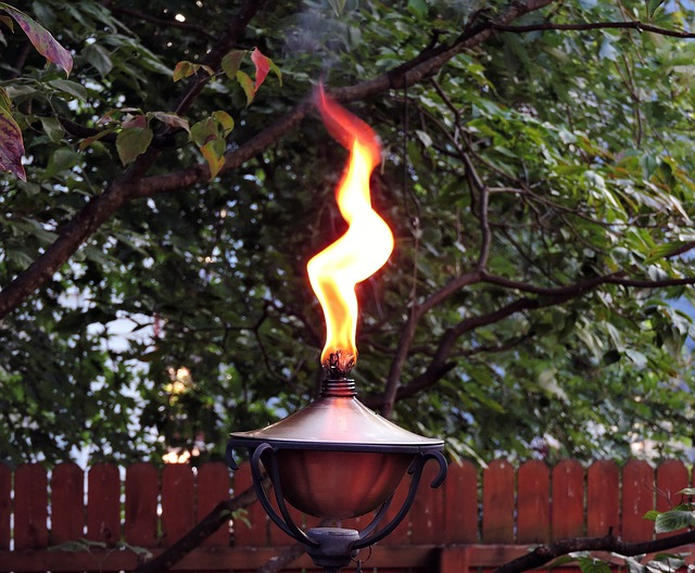 outdoor torch photo