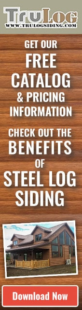 Steel Log Siding - Download Free Catalog