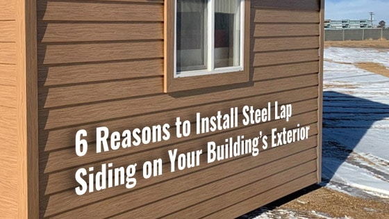 6 Reasons to Install Steel Lap Siding on Your Building's Exterior