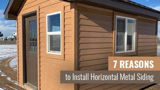 7 Reasons to Install Horizontal Metal Siding